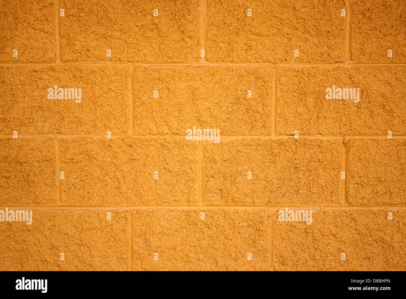 Painted cinder block wall texture - Stock Photo Painted Yellow Cinder Block Wall Texture