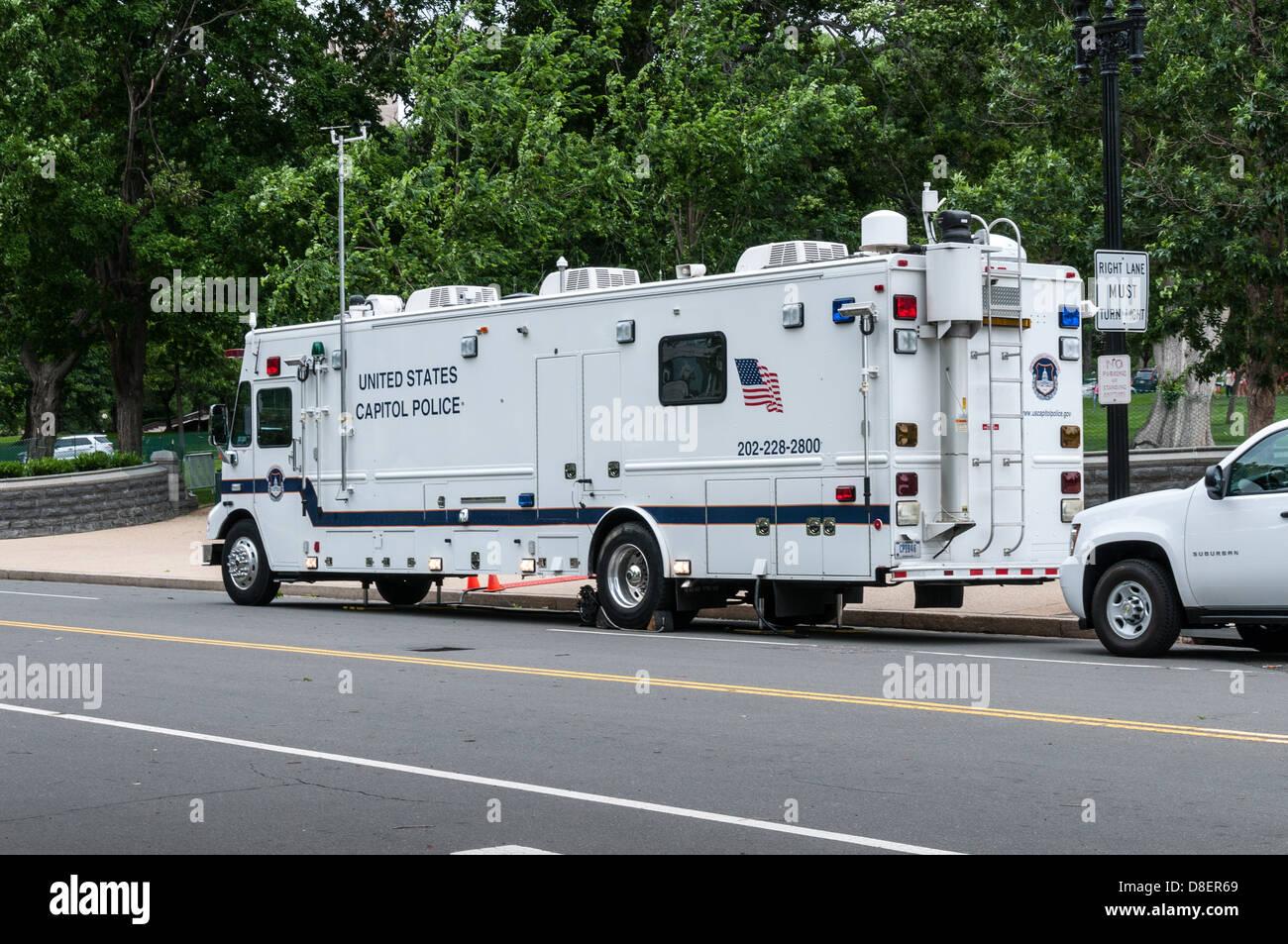 United States Capitol Police Command Vehicle Washington
