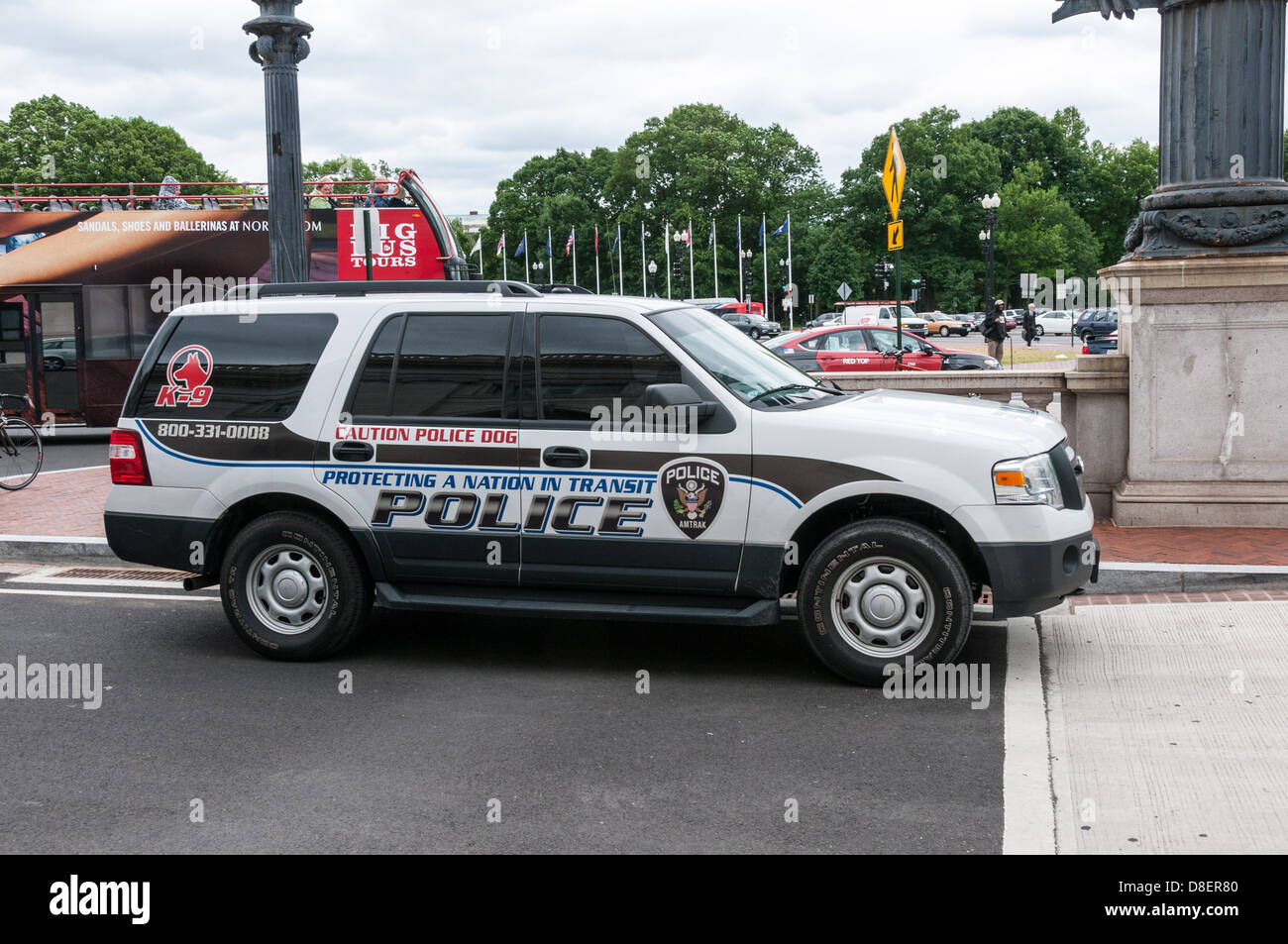 Amtrak police ford explorer police car union station for Washington dc department of motor vehicles
