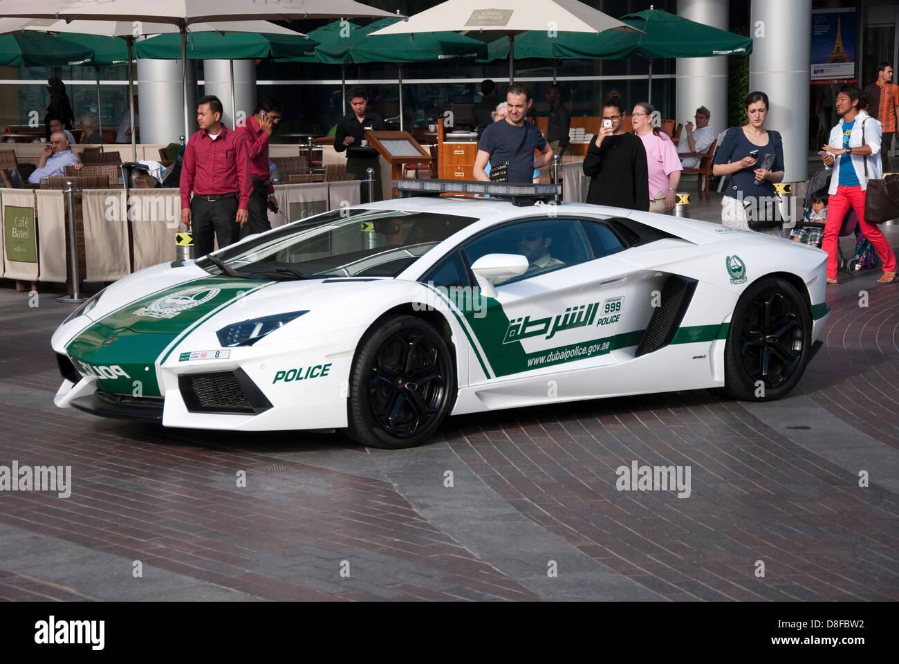 Dubai Police Lamborghini Aventador Lp700 4 Coupe Patrol