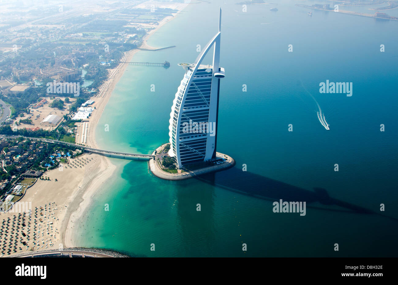Worlds Only 7 Star Hotel In Dubai Uae Called The Burj Al
