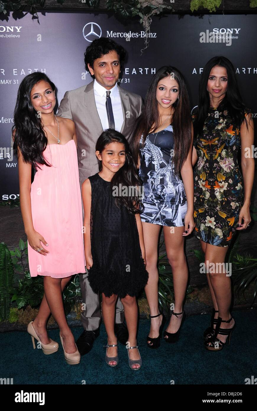 M Night Shyamalan Family M Night Shyamalan Daug...