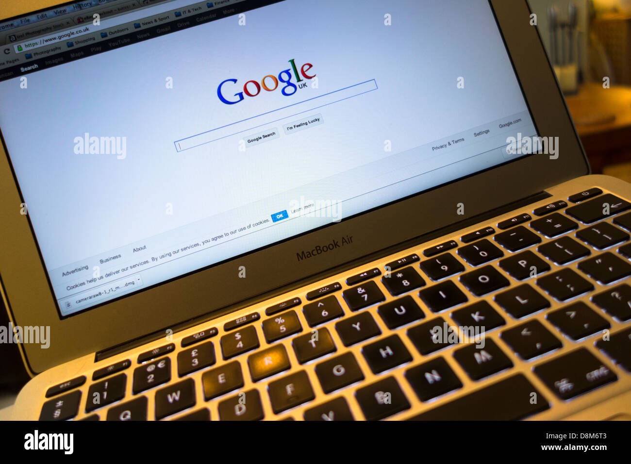 how to make google your homepage on macbook air