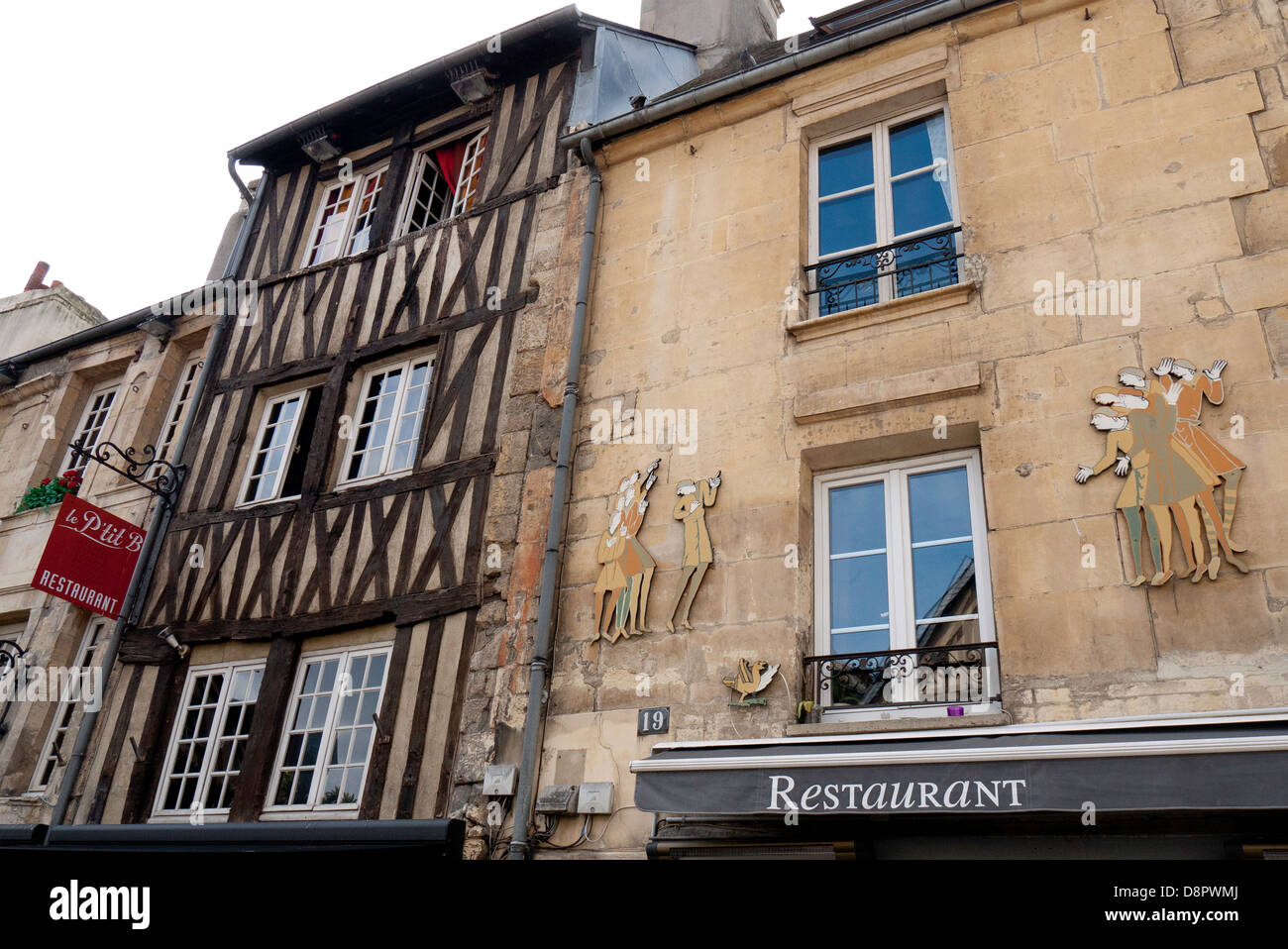 old normandy buildings in caen normandy france stock photo royalty free image 57051474 alamy. Black Bedroom Furniture Sets. Home Design Ideas