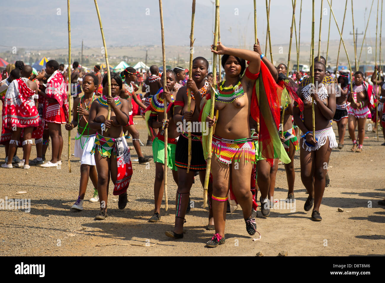 The gallery for --> Zulu Reed Dance Bathing