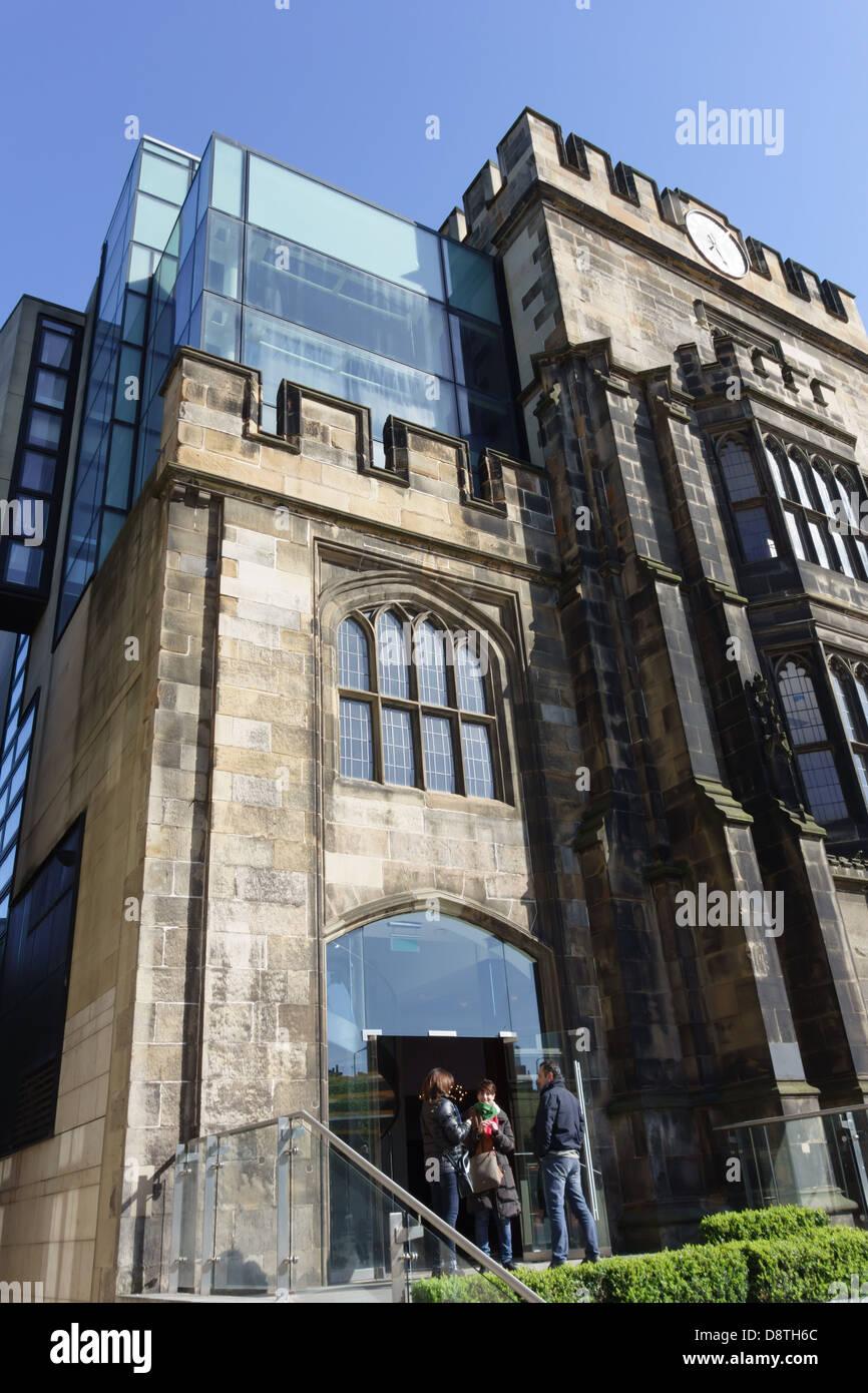 Edinburgh the Glasshouse Hotel Stock Photo Royalty Free Image