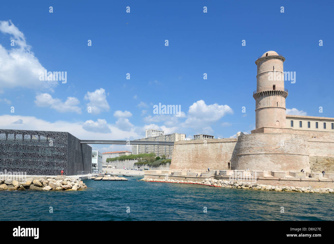 Fort saint jean mucem museum and gallery by rudy - Parking vieux port fort saint jean marseille ...