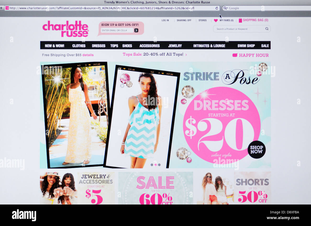 Charlotte online russe store