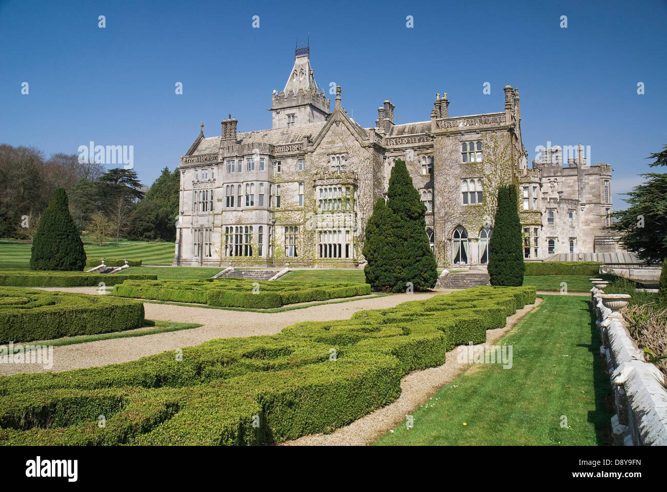 Adare Manor 19th Century Manor House Now A Luxury Hotel And Golf Course  Eire European Garden Plants Flora Gardens Plants