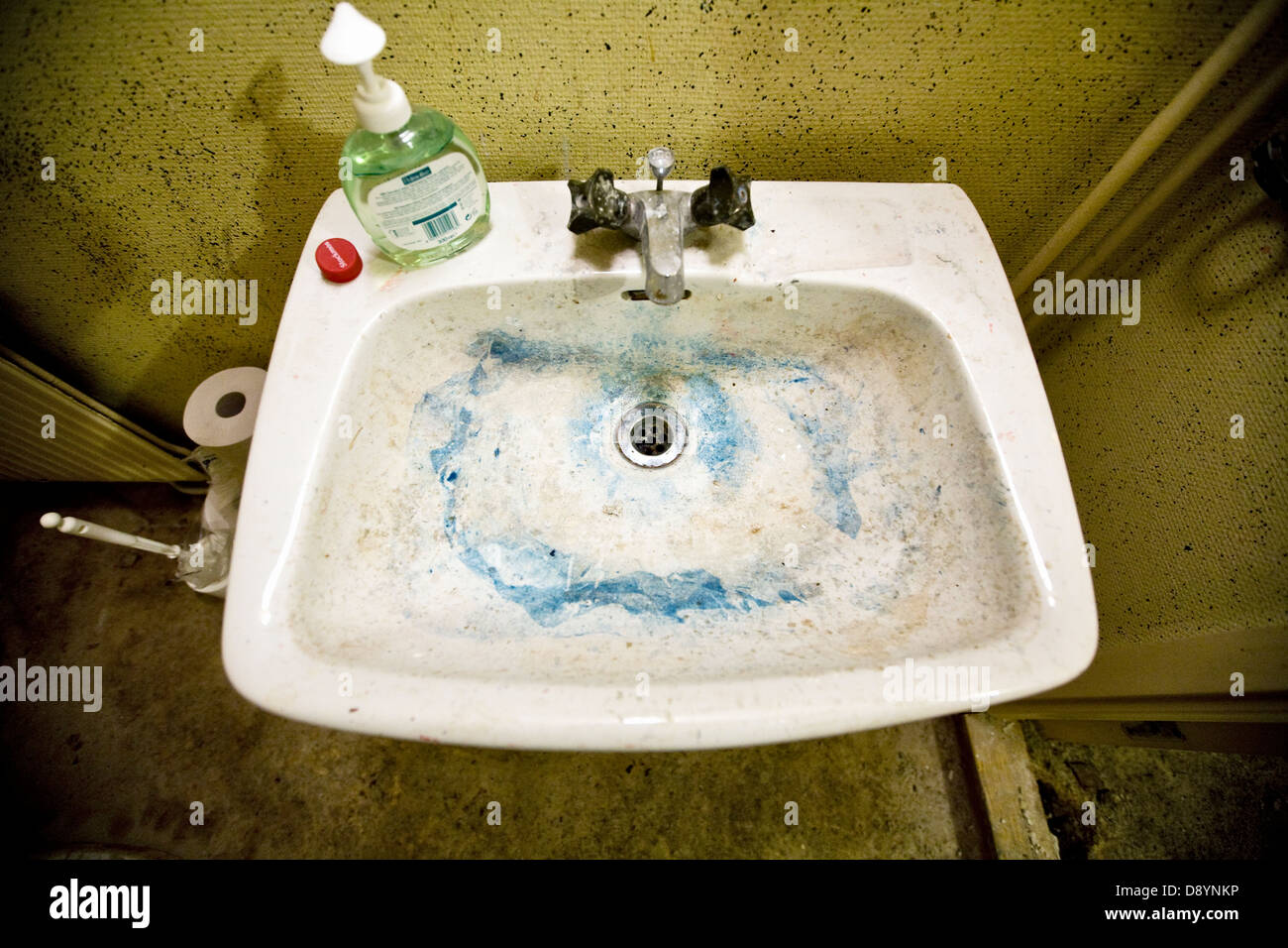Dirty bathroom sink stock photo royalty free image for Dirty bathroom photos