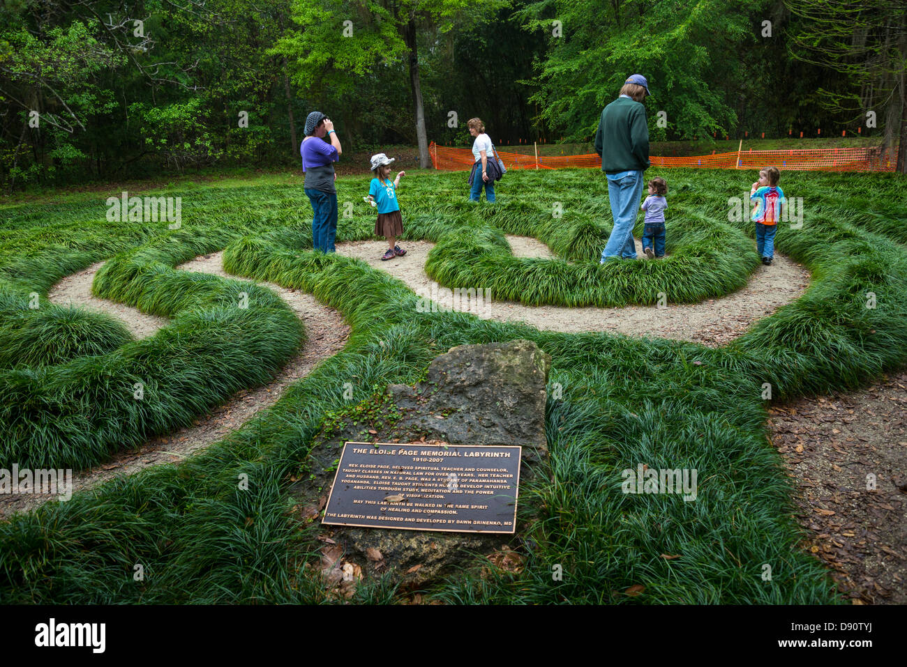 Walking maze at kanapaha botanical gardens gainesville for Gainesville botanical gardens