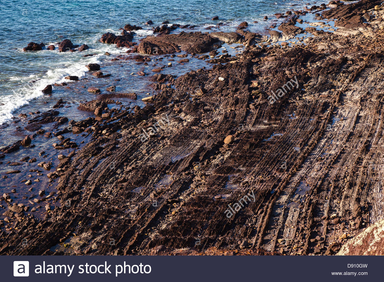 Image result for acadia national park glacial striations
