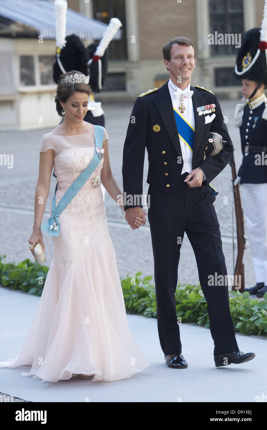 Stockholm, Spain. 8th June, 2013. Princess Marie of Denmark and ...