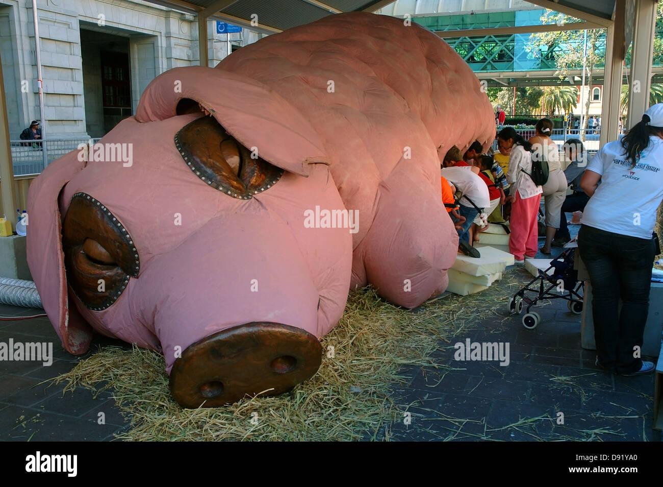 Pig Sculptures Stock Photos  Pig Sculptures Stock Images  Alamy