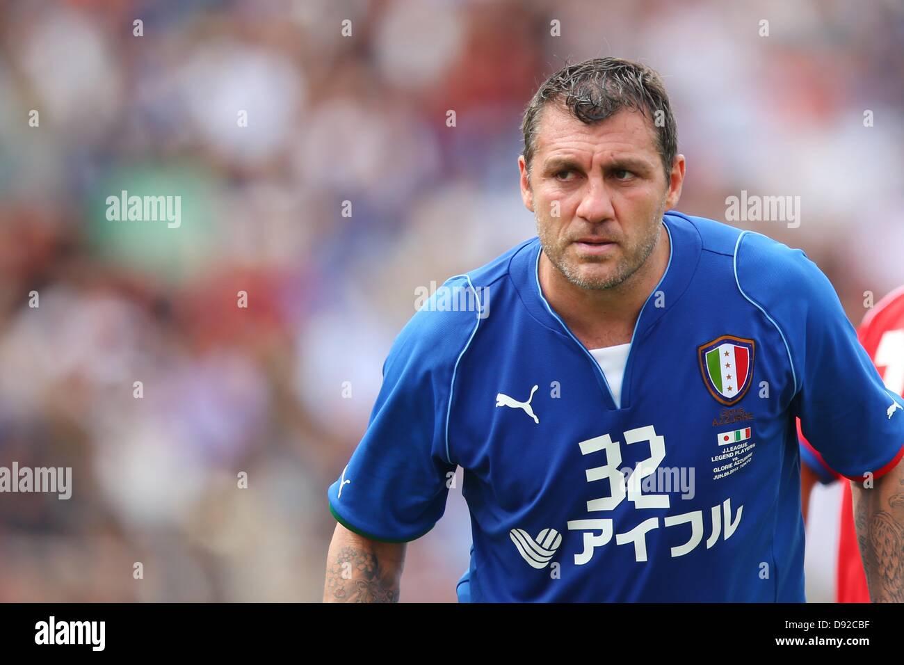 Christian Vieri ITA JUNE 9 2013 Football Soccer Stock