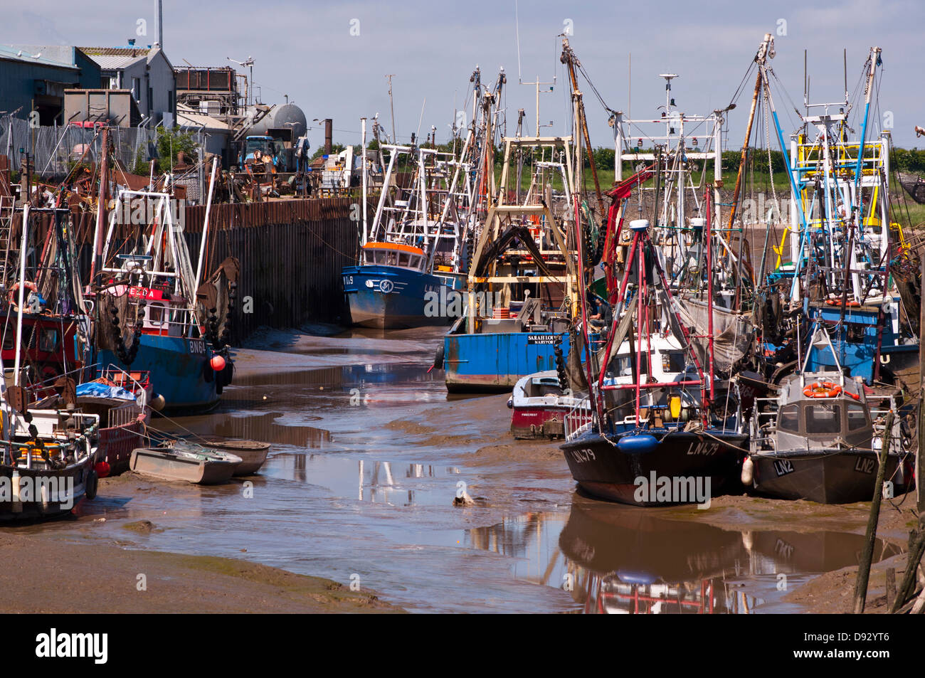 Shell fishing boats fisher fleet kings lynn stock photo for Fishing kings free