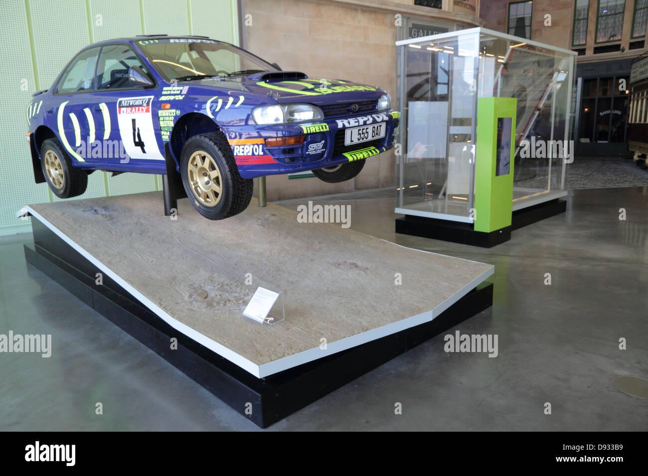 Subaru Impreza, Rally Car, used by Colin McRae, Riverside museum ...