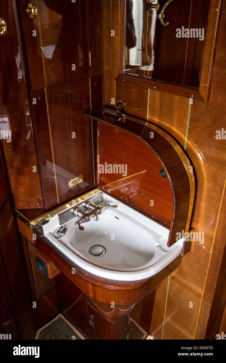 Venice Simplon Orient Express Carriage Cabin Interior