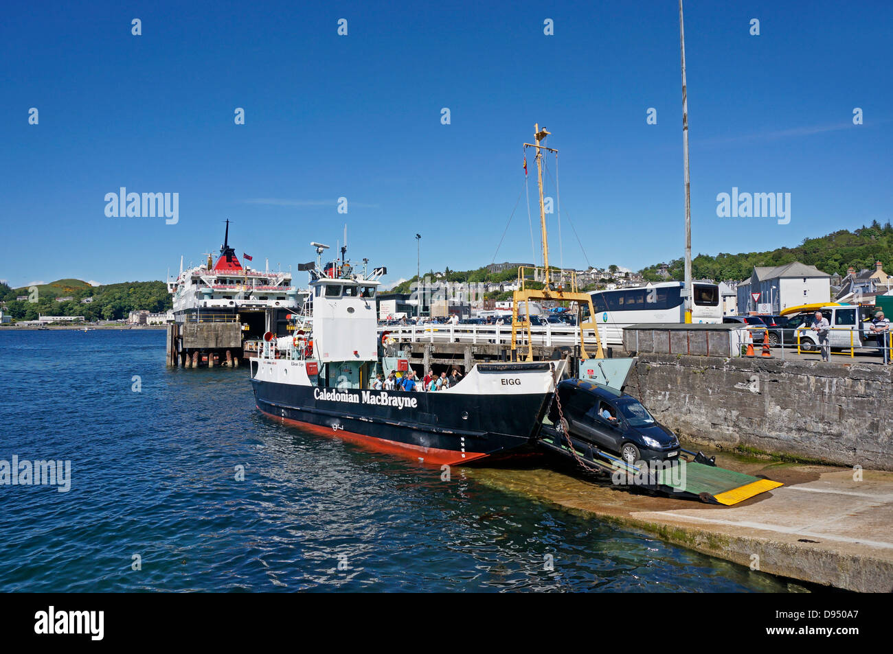 Caledonian Macbrayne Small Car Ferry Eigg Have Returned From