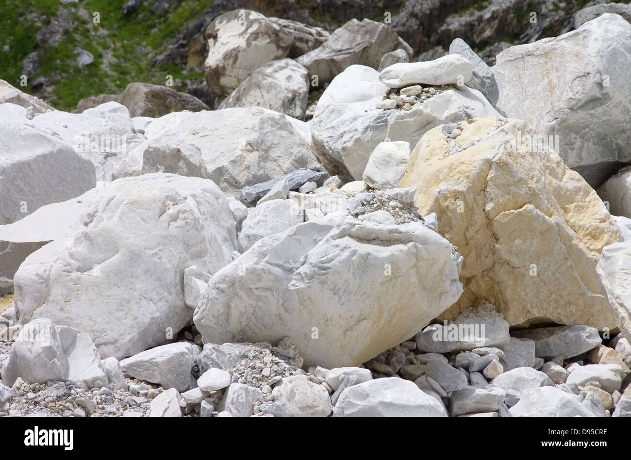 Carrara Marmor carrara marmor steinbruch carrara marble pit 25 stock photo