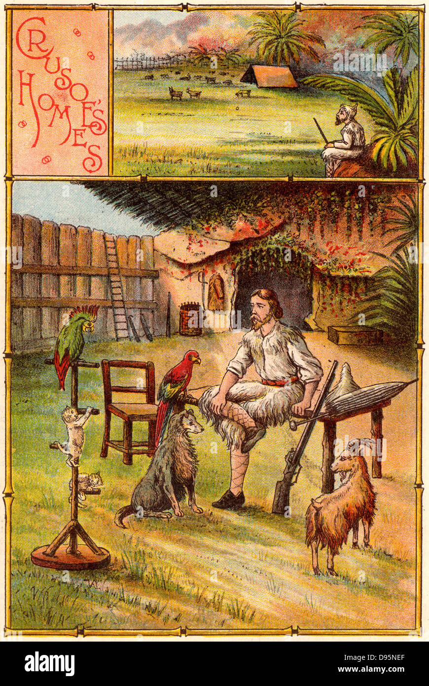 the life of robinson crusoe as presented in defoes novel Harpercollins is proud to present a range of best of images relating to defoes life with publishing the first english-language novel, robinson crusoe.