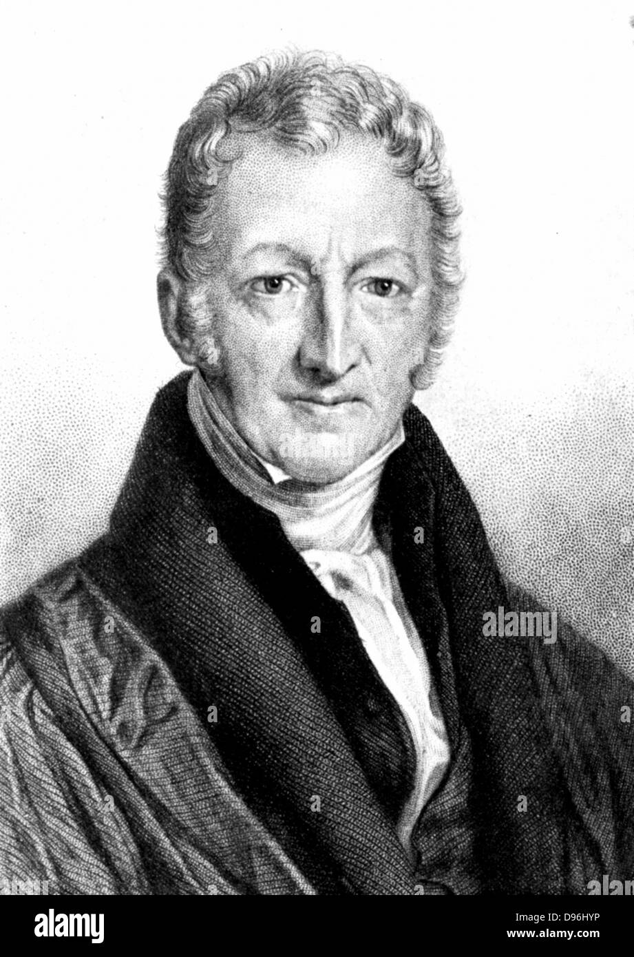thomas robert malthus english economist and clergyman stock photo thomas robert malthus 1766 1834 english economist and clergyman author of essay on the principle of population 1798