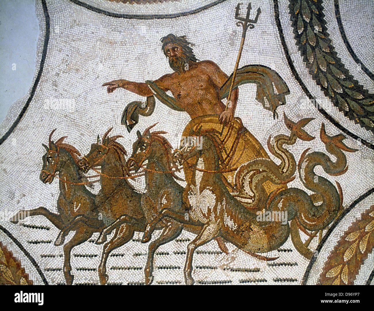 triumph of neptune neptune roman god of the sea greek