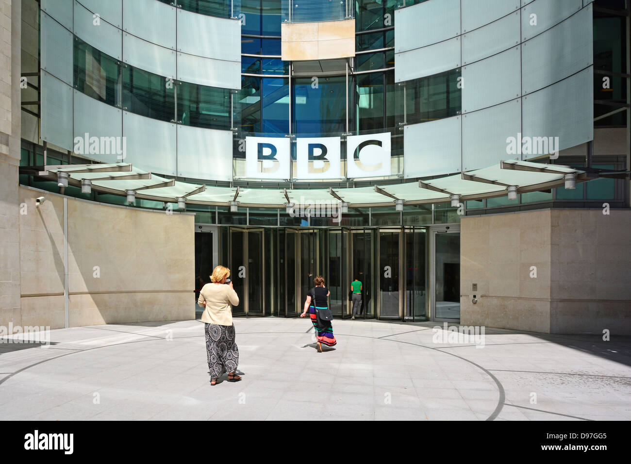bbc broadcasting house exterior stock photos & bbc broadcasting