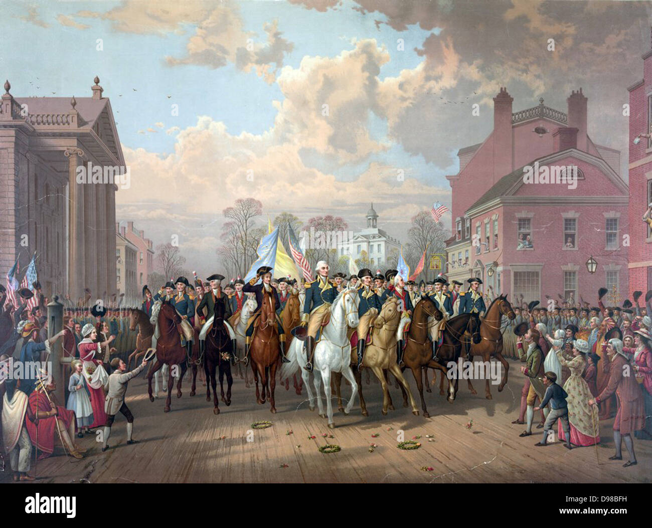 Revolutionary War 1775-1783 (American War of Independence): George ...