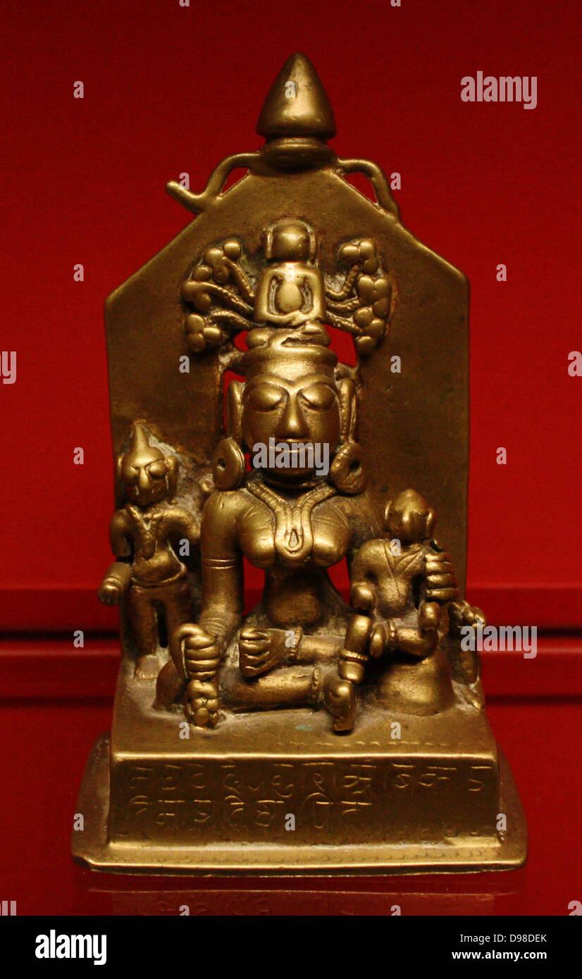 ambika stock photos ambika stock images alamy ambika brass gujarat dated 1521 the benign jain goddess ambika holds a