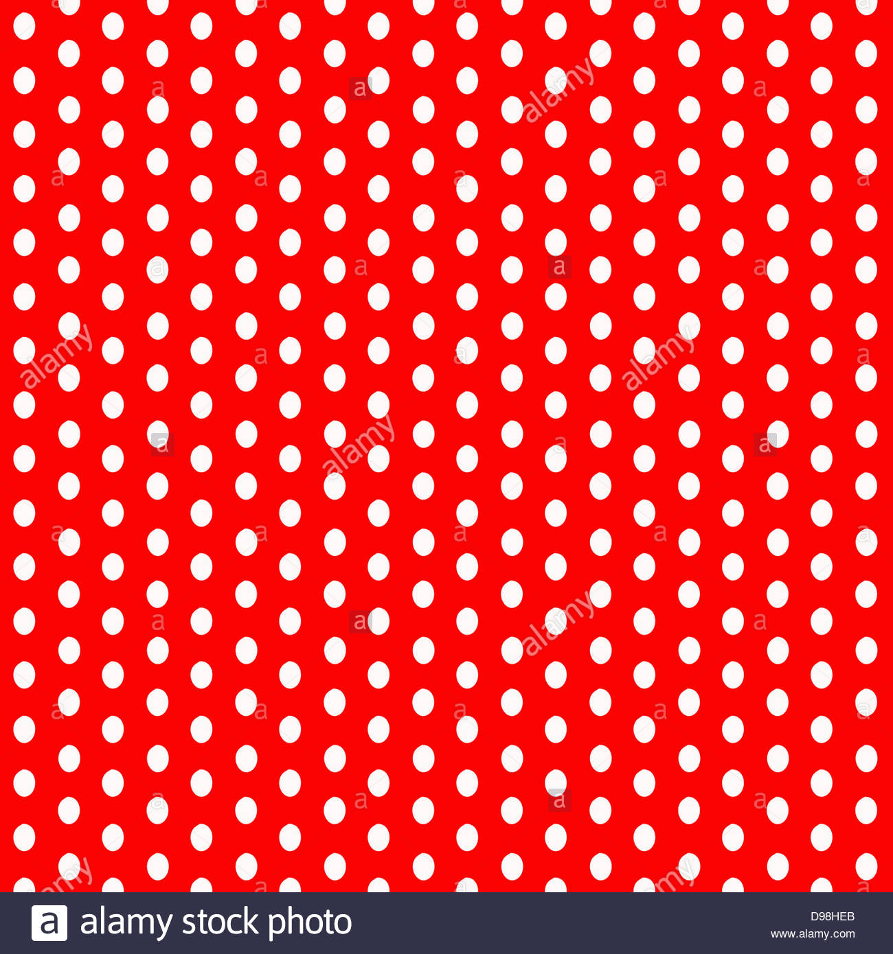 digital composite background white polka dots on a red