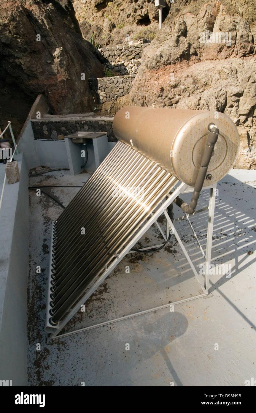 solar water heating panel in spain spanish panels tank tanks hot