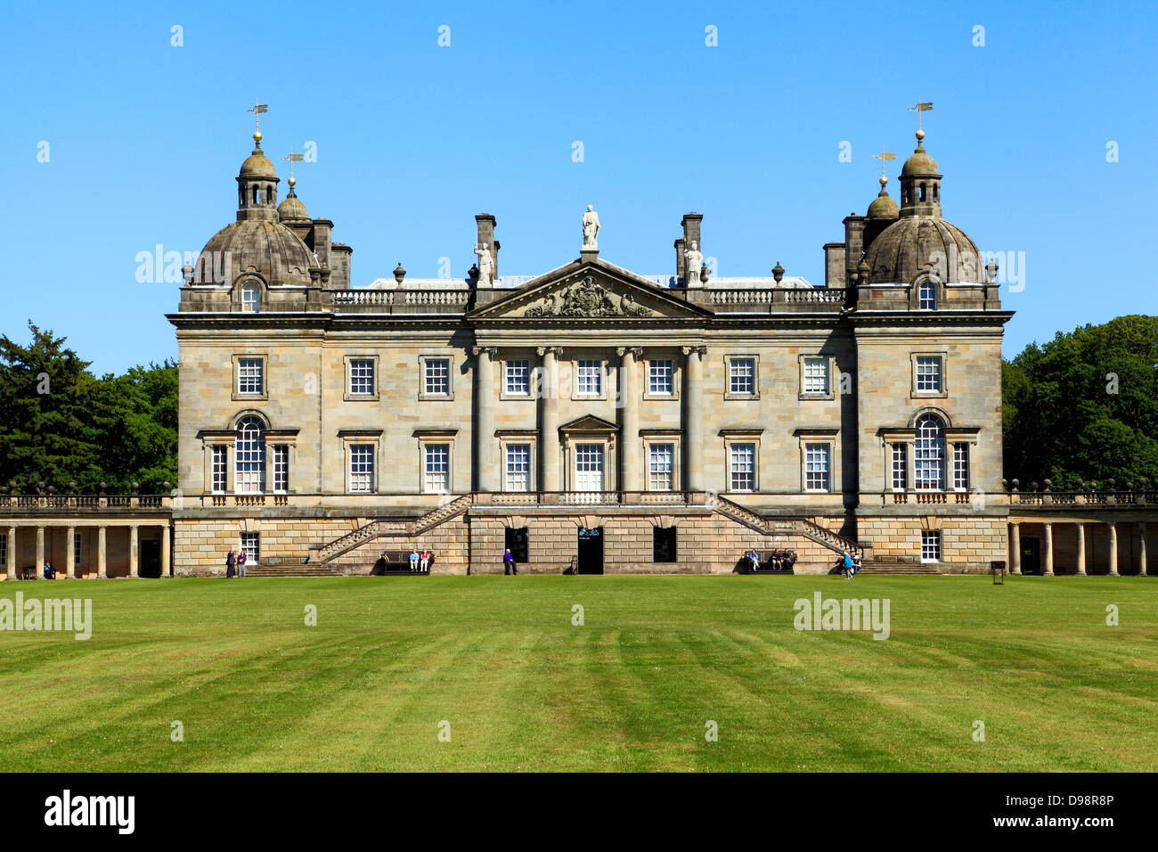 Houghton hall norfolk west front england uk palladian for Palladian home designs