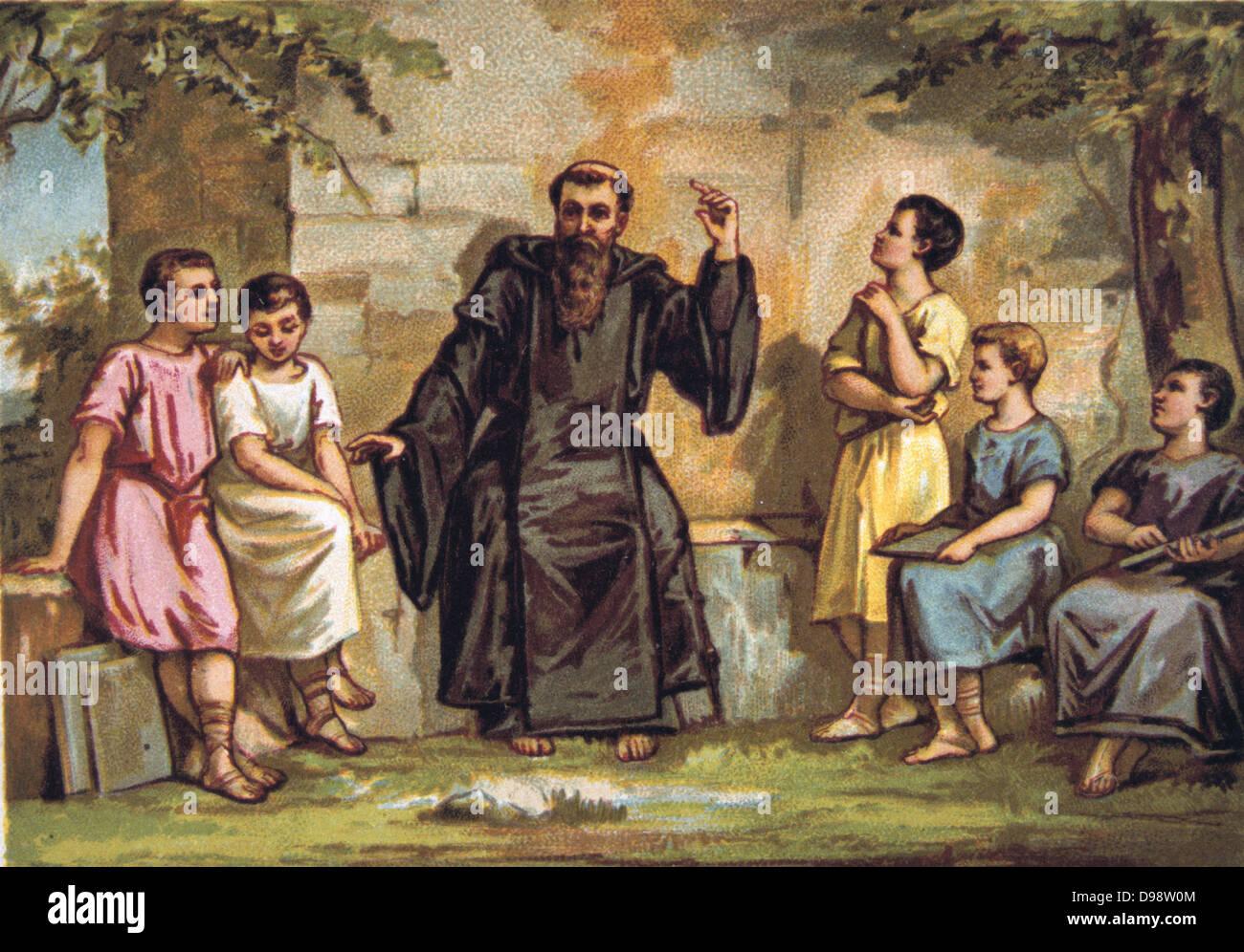 St Benedict of Nursia Saint Benedictines Founder Western Monasticism Catholic Saints Umbria 2012 Details