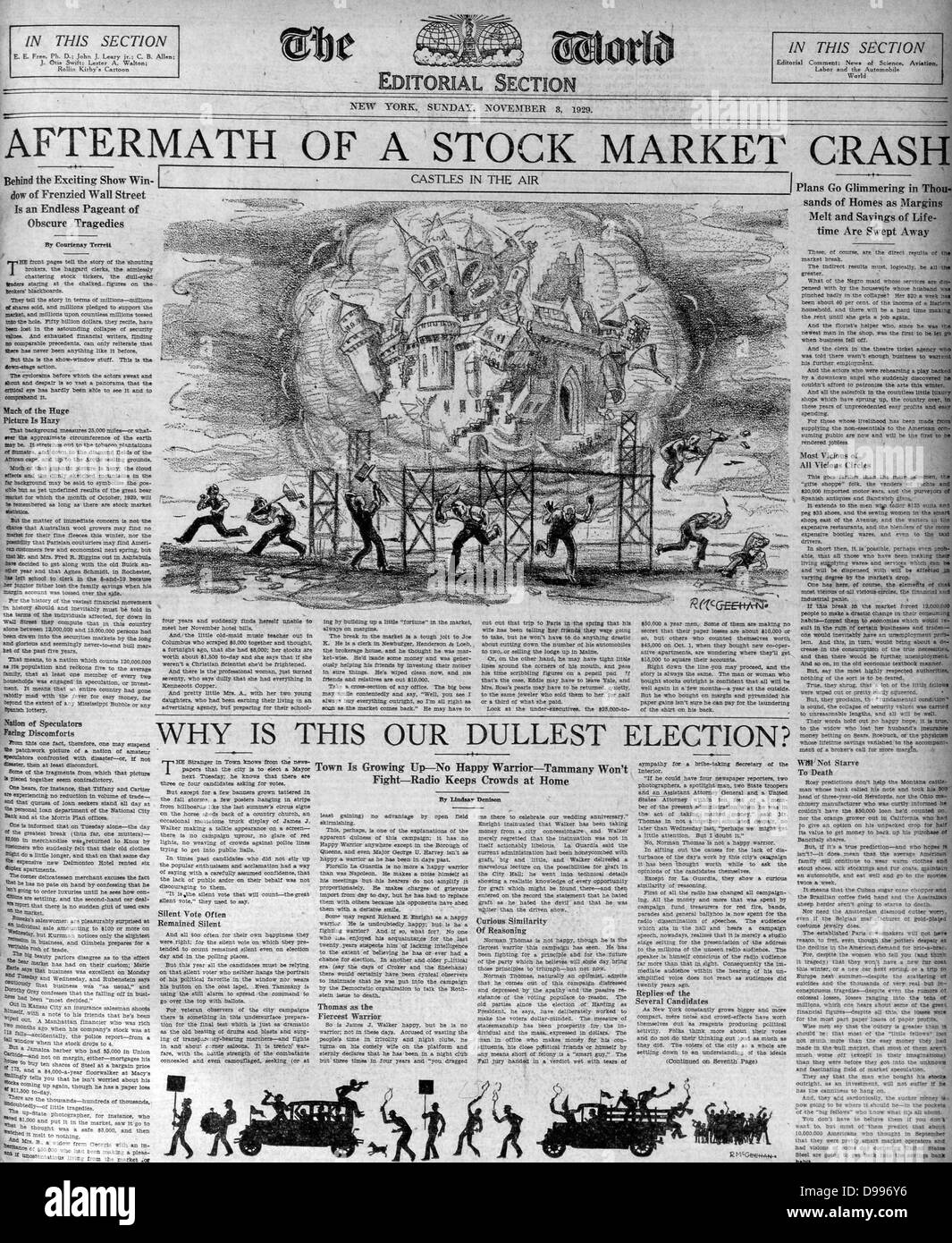 research paper on stock market crash of 1929 In this article, the writer first describes the financial environment in the united states before the 1929 stock market crash occurred the writer notes that for years the market was driven by public speculation.