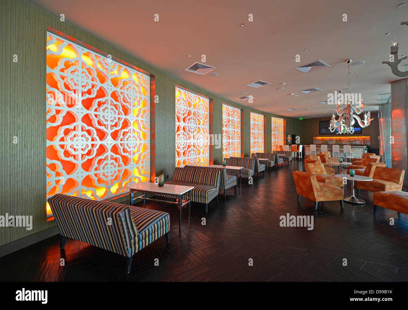 restaurant and bar retro look riviera resort spa hotel palm stock photo royalty free image. Black Bedroom Furniture Sets. Home Design Ideas