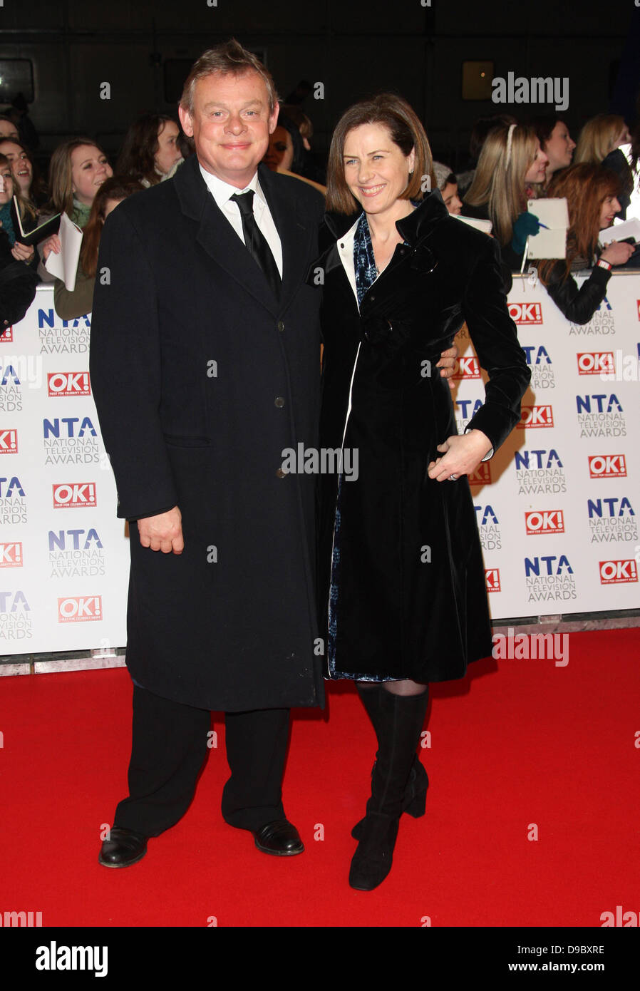 martin clunes and wife philippa braithwaite the national