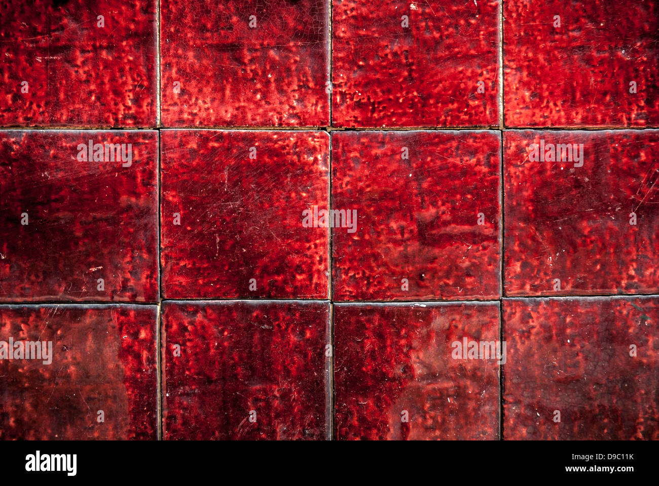 Red glazed old victorian ceramic tiles background stock photo red glazed old victorian ceramic tiles background dailygadgetfo Image collections