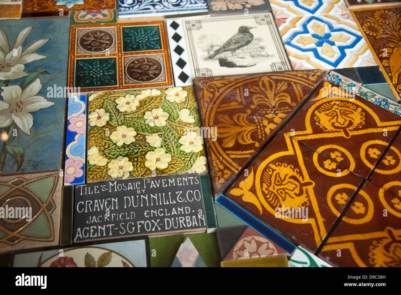 Ornate floor tile tiles samples victorian english stock photo ornate floor tile tiles samples victorian english dailygadgetfo Images