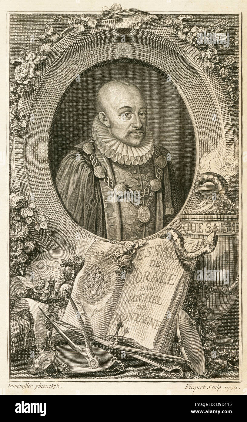 essay montaigne Michel de montaigne: french writer whose essais (essays) established a new literary form in his essays he wrote one of the most captivating and intimate self.