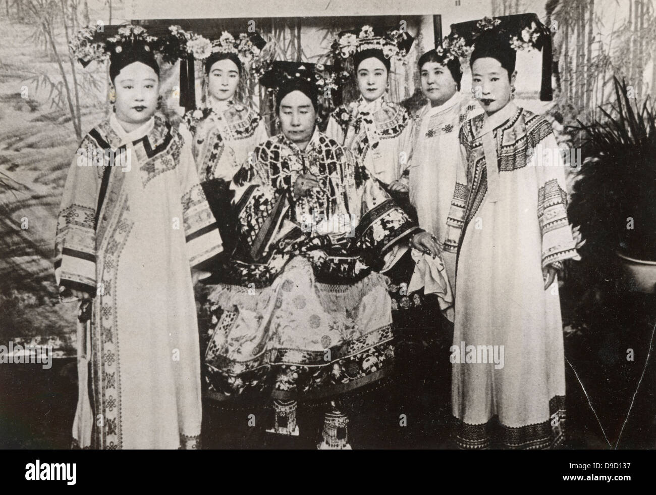 the empress dowager cixi Artworks from the collection of the empress dowager cixi come to the bowers  museum, shedding light on the interaction of taste and power in.