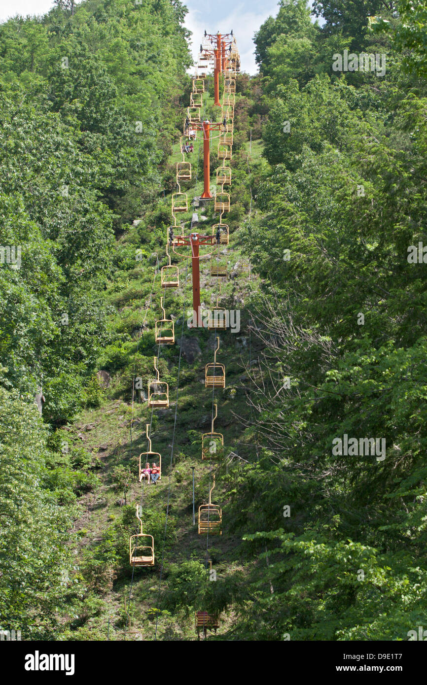Sky Lift Chair Lift Gatlinburg TN
