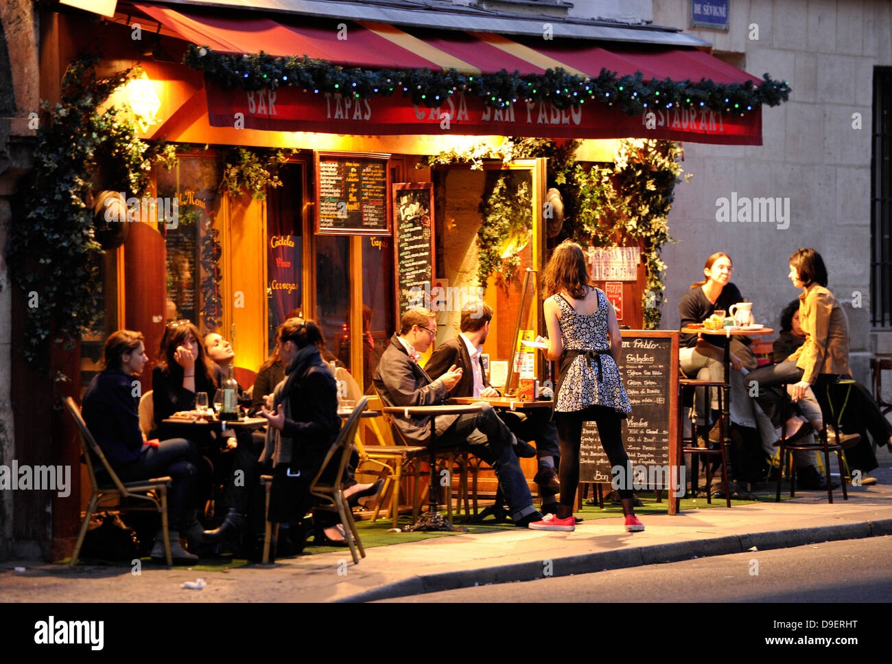 Restaurant St Paul Marais