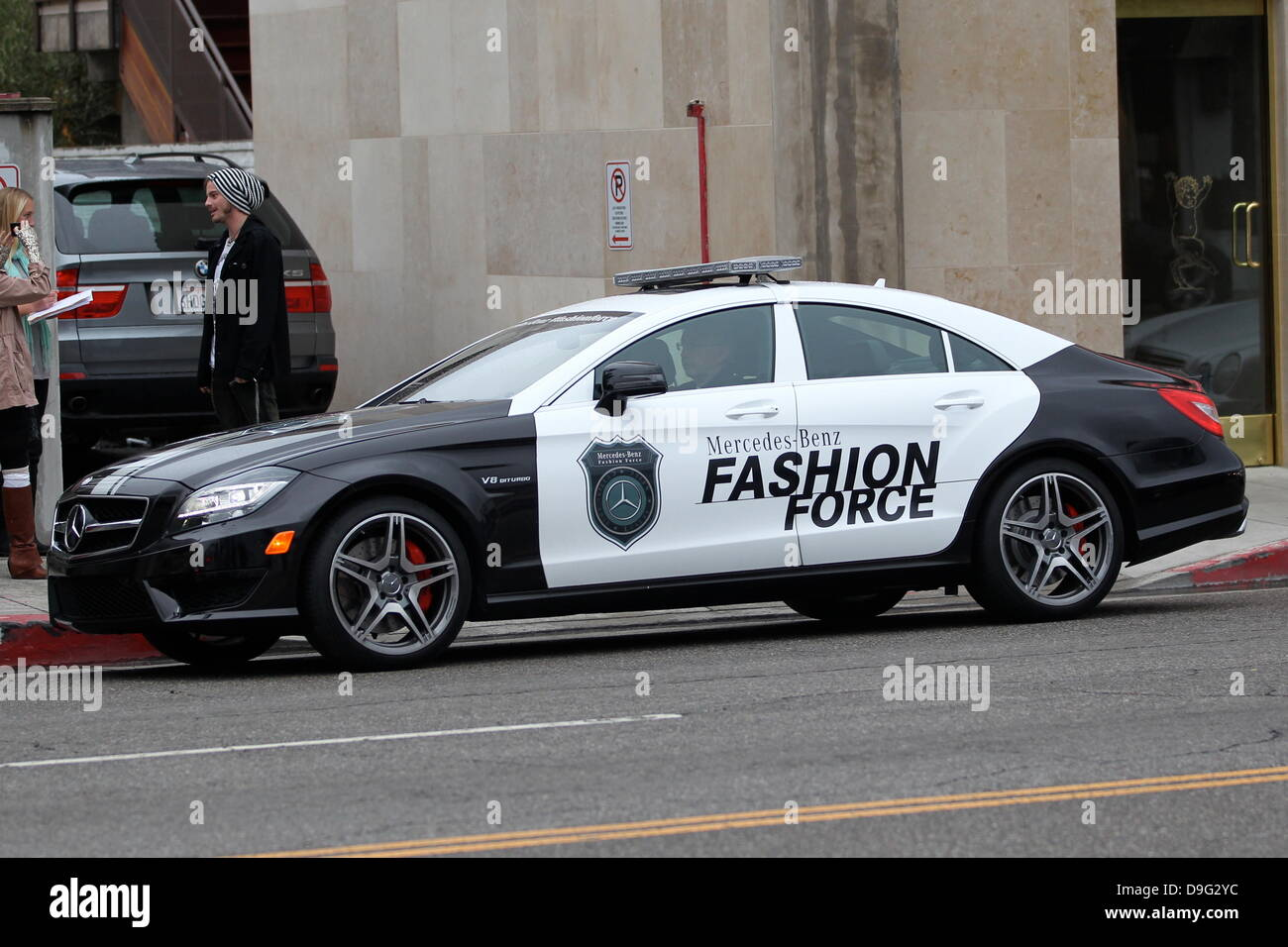 Mercedes fashion force car patrols la the mercedes benz usa mercedes fashion force car patrols la the mercedes benz usafashion force car could be seen patrolling the streets of los angeles during the academy awards thecheapjerseys Images