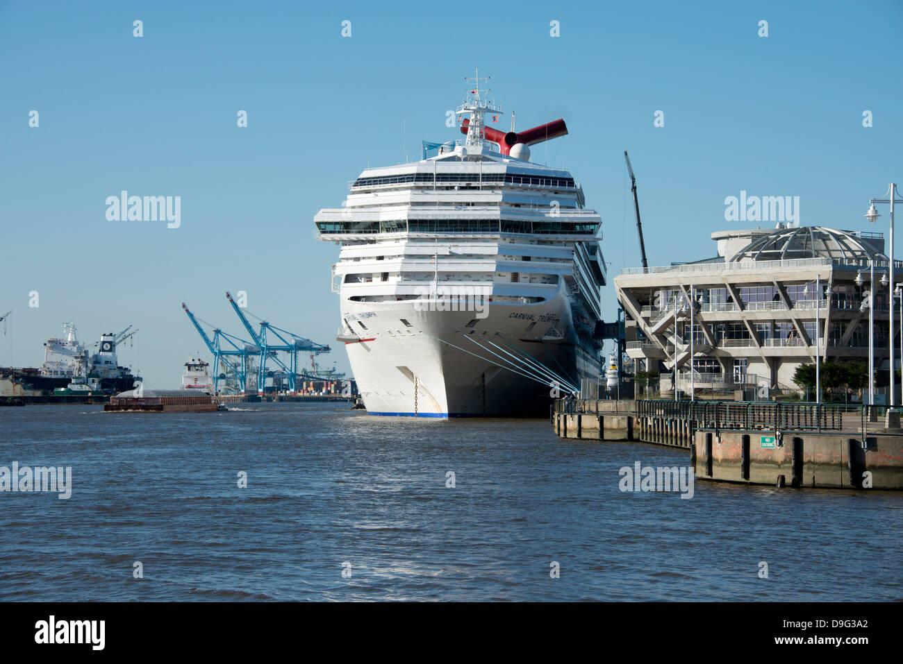 Alabama Mobile Mobile River Illfated Carnival Triumph Cruise - Cruise ship mobile alabama