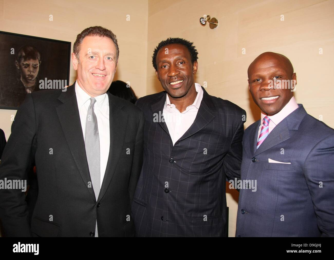 Andrew Roberts, Linford Christie And Chris Eubank Theresa Roberts Hosts A  Party For Jamaican Ministers