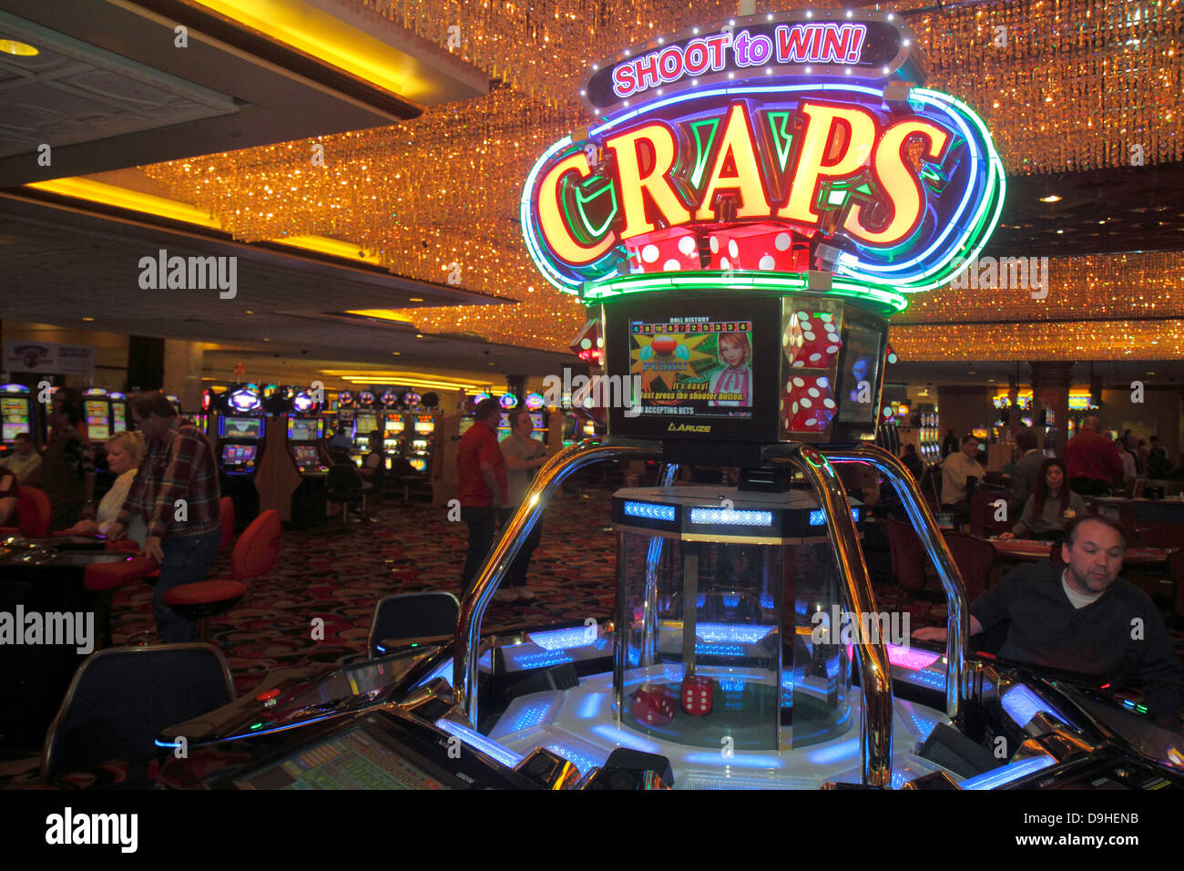 Casino craps gambling game slot american casinos 2008