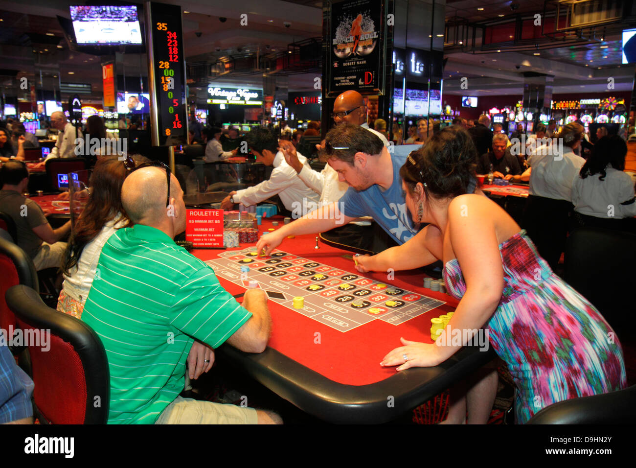 las vegas casino games rules