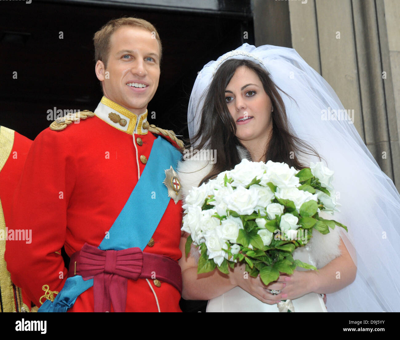A Royal Look-A-Like Wedding Prince William and Kate ...