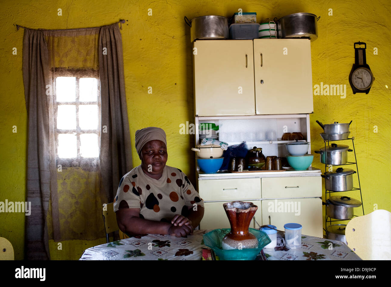 Inside a traditional xhosa kitchen in rural transkei for African kitchen